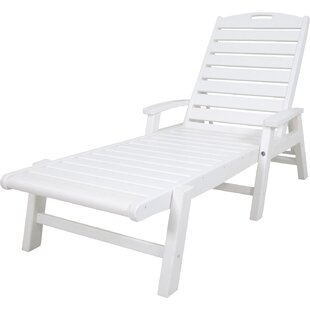Trex Outdoor Yacht Club Chaise Lounge with Arms