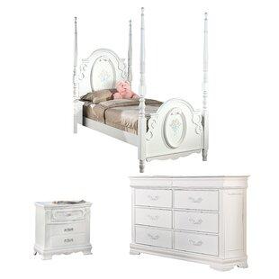 Affordable Schaub Four Poster Configurable Bedroom Set ByHarriet Bee