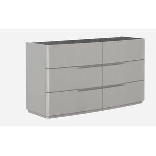 Siegle 6 Drawer Double Dresser by Orren Ellis