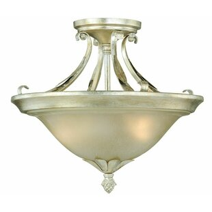 Pucklechurch Semi-Flush Mount by Astoria Grand