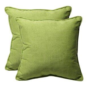 Alsip Outdoor Throw Pillow (Set of 2)