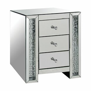 Espanola 3 Drawer Nightstand