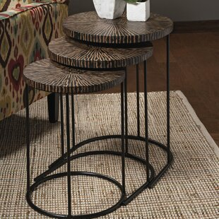 Briggsvale 3 Piece Coco Shell Tables Set