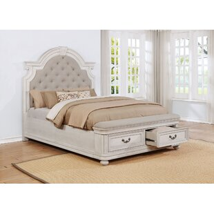One Allium Way Alisa Upholstered Storage Platform Bed