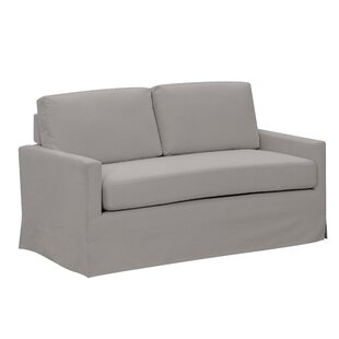 Saville Modern Loveseat by Breakwater Bay Best #1