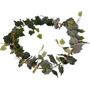 Flocking Grape Leaf Garland (Set of 2)