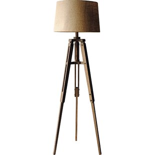 Wood floor lamps youll love wayfair mozeypictures Images