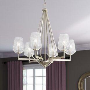 Willa Arlo Interiors Whetsel 6-Light Shaded Chandelier