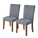 Tansey Upholstered Dining Chair (Set of 2) by Bungalow Rose
