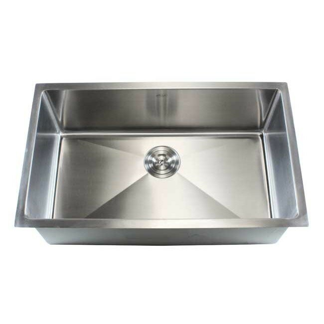 Ariel 30 X 18 Single Bowl Undermount Kitchen Sink