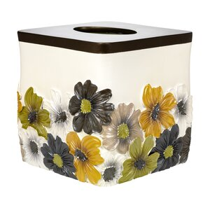 Floral Bouquet Tissue Box Cover