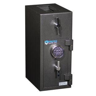 Rotary Hopper Commercial Depository Safe with Electronic Lock by