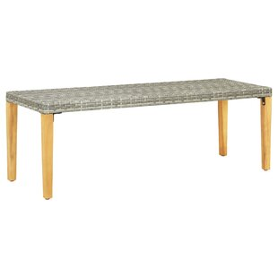 Adelle Wood Bench By Sol 72 Outdoor