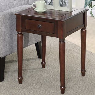 Widmer End Table with Storage