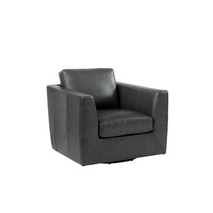 Coopersville Swivel Armchair by 17 Stories