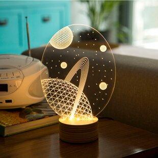 Galaxy LED Illusion 9 Table Lamp