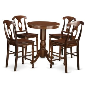 Eden 5 Piece Counter Height Pub Table Set..