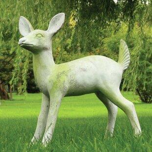 Garden Décor Deer Fawn Statue