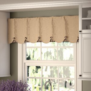 living room valances | wayfair