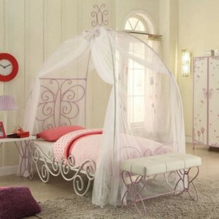 Kimbro Padded Full Canopy Bed
