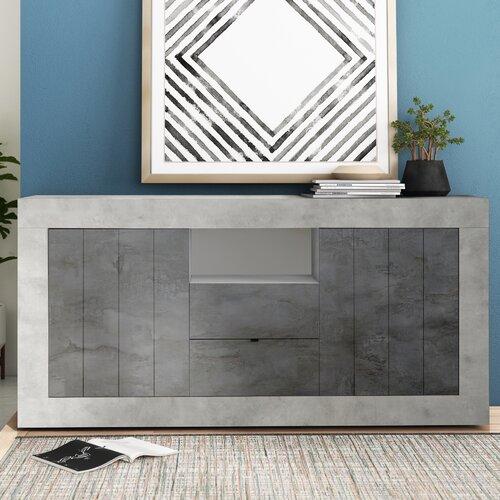 Mavis Sideboard Zipcode Design Colour Light Greydark Grey