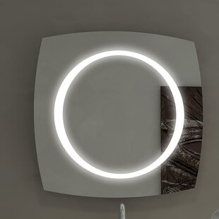 Halo Illuminated Bathroom/Vanity Wall Mirror By Paris Mirror