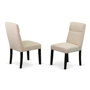 Damron Upholstered Dining Chair (Set of 2) Charlton Home