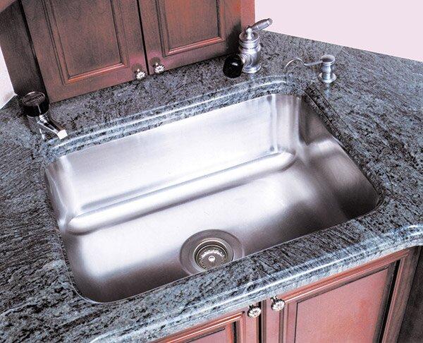 A-Line by Advance Tabco Single Bowl Undermount Kitchen Sink