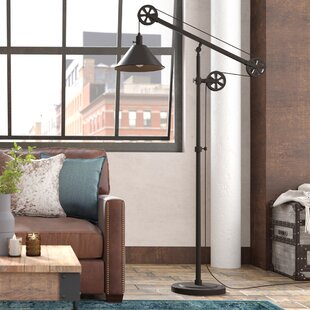 49abd8ce79b1 Industrial Floor Lamps You ll Love