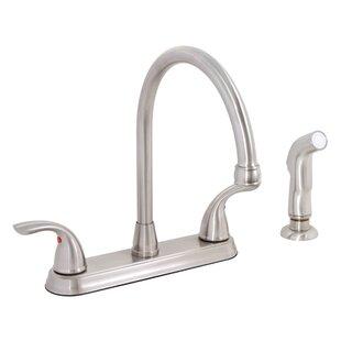Premier Faucet Westlake Double Handle Kitchen Faucet with Side Spray