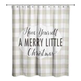 Compare & Buy Vermont Have Yourself a Merry Little Christmas Shower Curtain ByThe Holiday Aisle