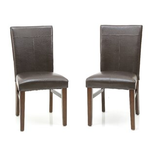 Whisenhunt Upholstered Dining Chair (Set of 2) Millwood Pines