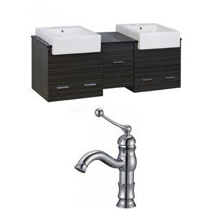 Xena Farmhouse 62 Double Bathroom Vanity Set