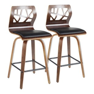 Thornton 26 Swivel Bar Stool (Set of 2) Union Rustic
