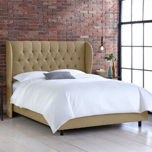 Goodrich Upholstered Panel Bed by SkylineExpress