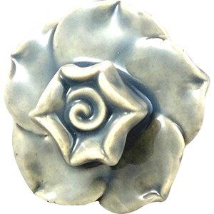 Handpainted Farmhouse Flower Novelty Knob (Set of 4)