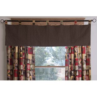Albaugh Solid 60 Window Valance by Loon Peak