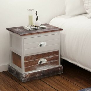 Latrell 2 Drawer Bedside Table By House Of Hampton