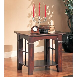 Charlton Home Chivers Solid Wooden End Table