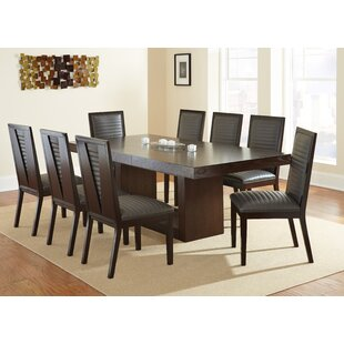 antonio extendable dining table - Long Wood Dining Table