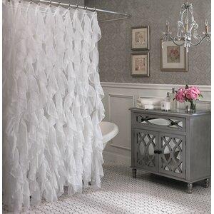 Schmitt Cascading Waterfall Shower Curtain