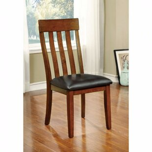 Red Barrel Studio Soeren Transitional Solid Wood Dining Chair (Set of 2)