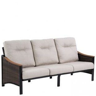 Tropitone Brazo Woven Patio Sofa with Cushions