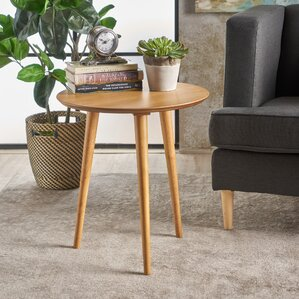 Pawlet Wood End Table by George Oliver
