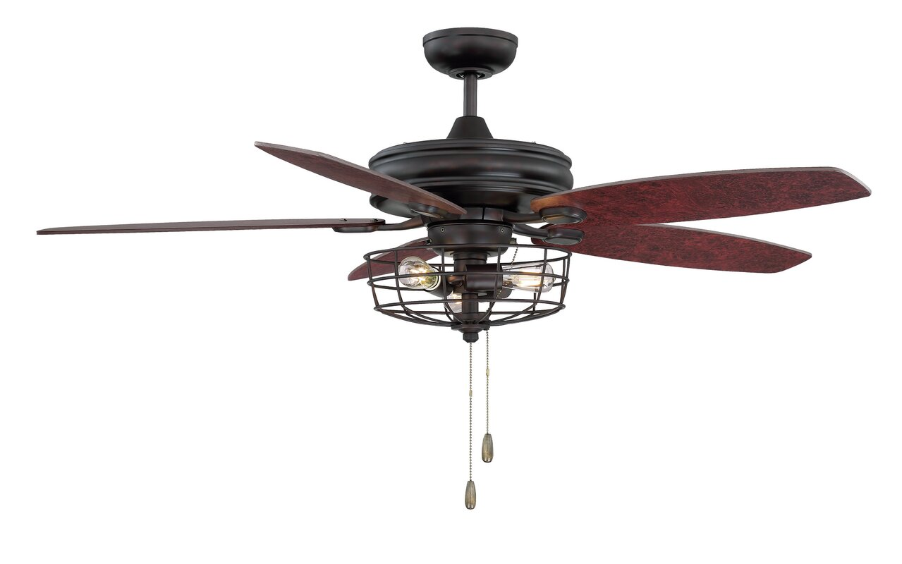 Glenpool 52 5 Blade Ceiling Fan