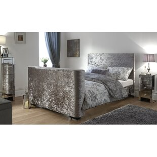Review Gayle Upholstered TV Bed