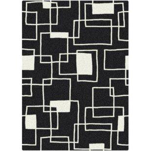 Shop For Arrow Offbeat Box Black/White Area Rug ByEbern Designs