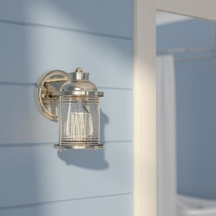 Galsworthy 1-Light Bath Sconce by Beachcrest Home