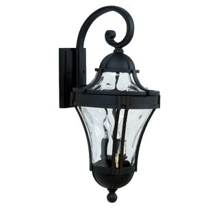 Oakhill Outdoor Wall Lantern by Charlton Home Modern