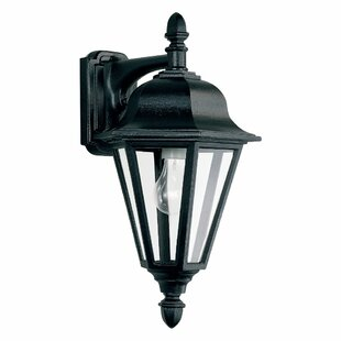 Comparison Redfern Traditional 1-Light Outdoor Wall Lantern By Alcott Hill
